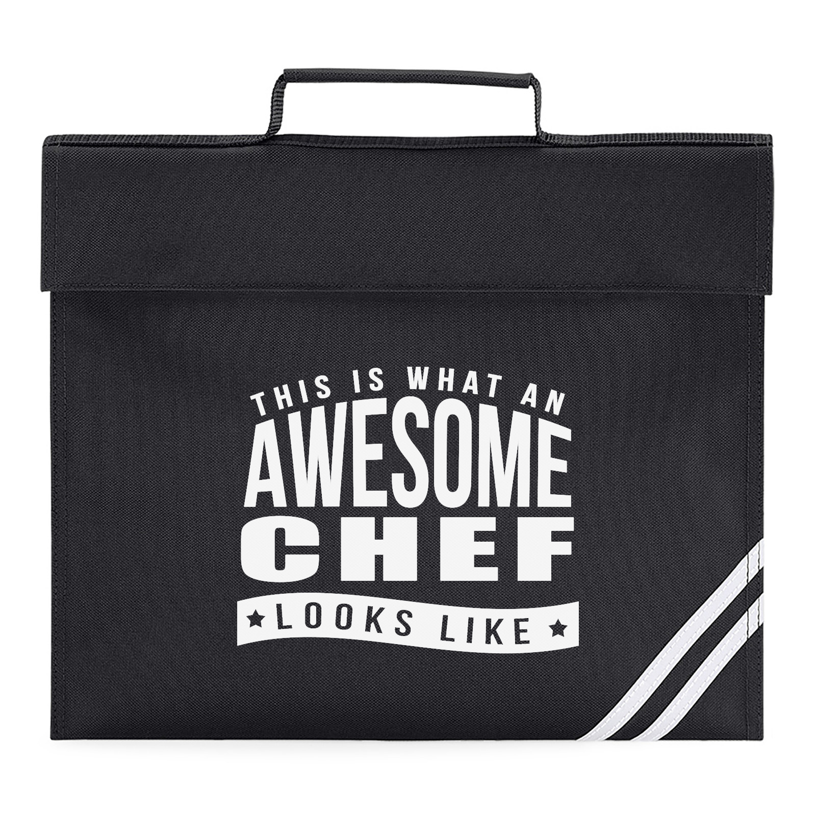 Picture Of This Is What An Awesome Chef Looks Like Book Bag