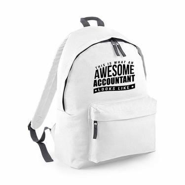 Picture of This Is What An Awesome Accountant Looks Like Fashion Backpack