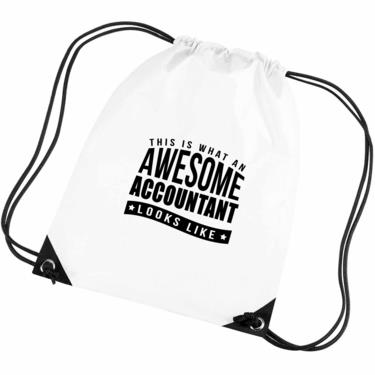 Picture of This Is What An Awesome Accountant Looks Like Gym Bag