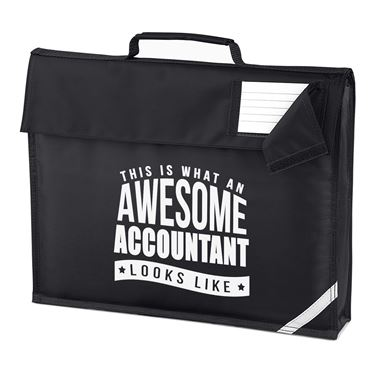 Picture of This Is What An Awesome Accountant Looks Like Homework Bag