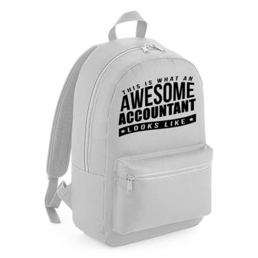 Picture of This Is What An Awesome Accountant Looks Like Kids Backpack