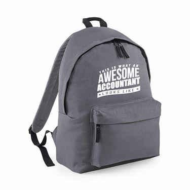 Picture of This Is What An Awesome Accountant Looks Like Maxi Backpack