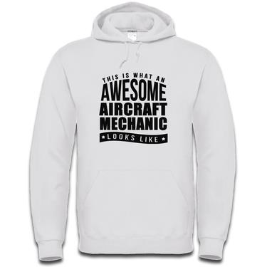 Picture of This Is What An Awesome Aircraft Mechanic Looks Like Mens Hoodie