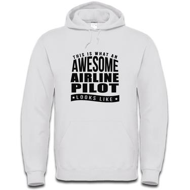 Picture of This Is What An Awesome Airline Pilot Looks Like Mens Hoodie
