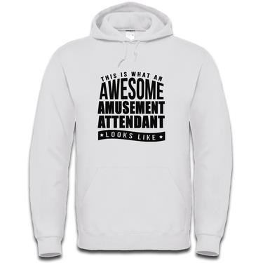 Picture of This Is What An Awesome Amusement Attendant Looks Like Mens Hoodie