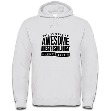 Picture of This Is What An Awesome Anesthesiologist Looks Like Mens Hoodie