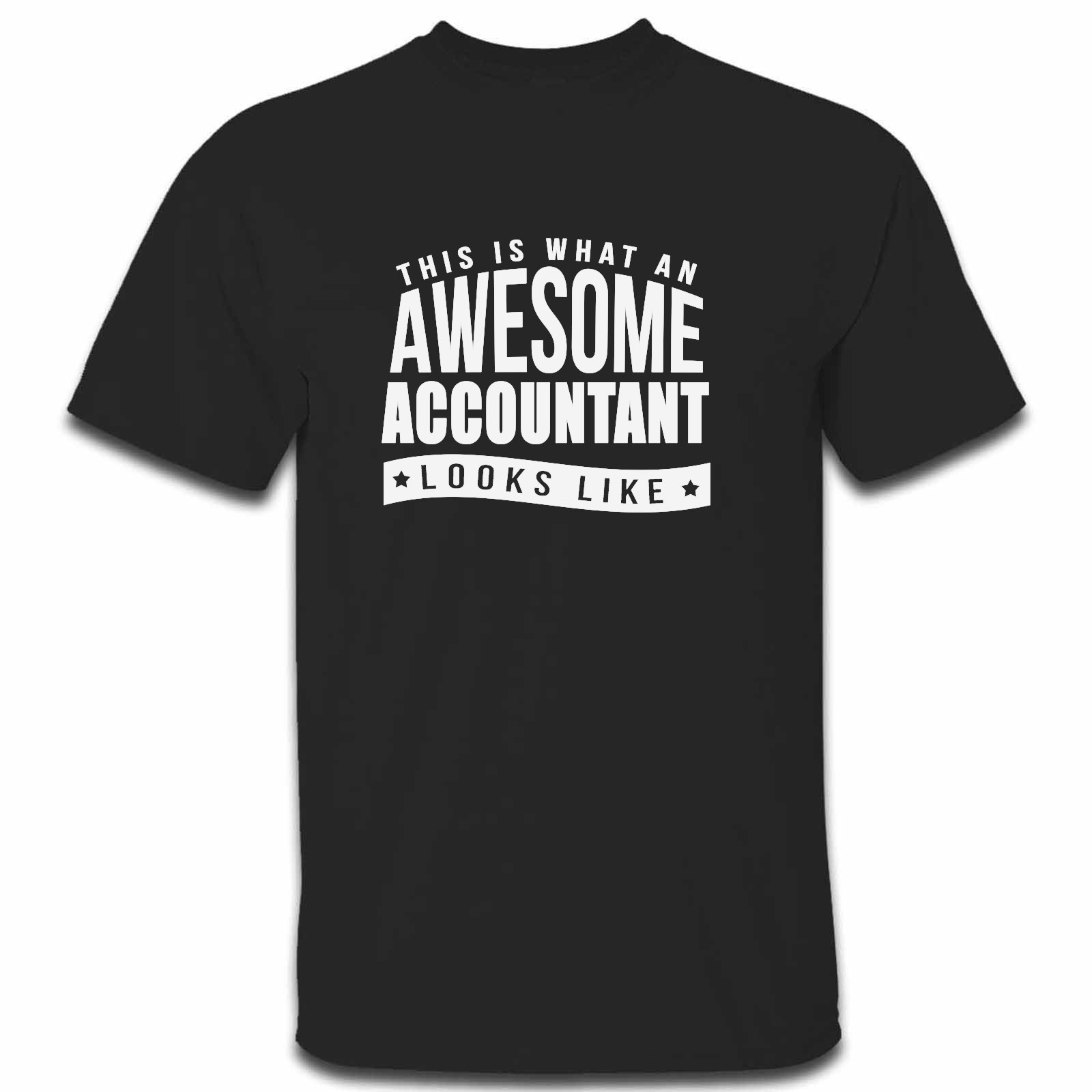 Picture of This Is What An Awesome Accountant Looks Like Mens Tshirt