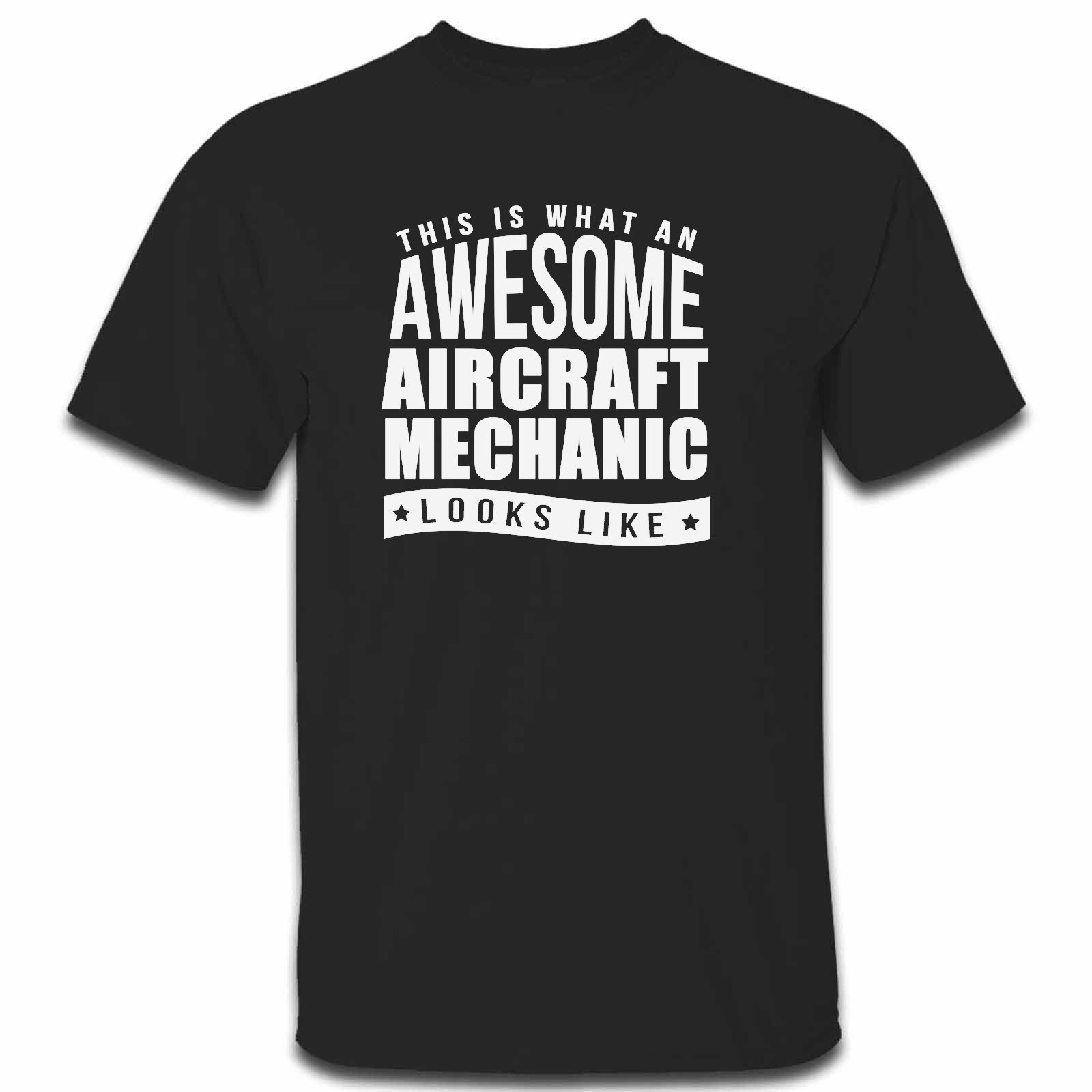 Picture of This Is What An Awesome Aircraft Mechanic Looks Like Mens Tshirt