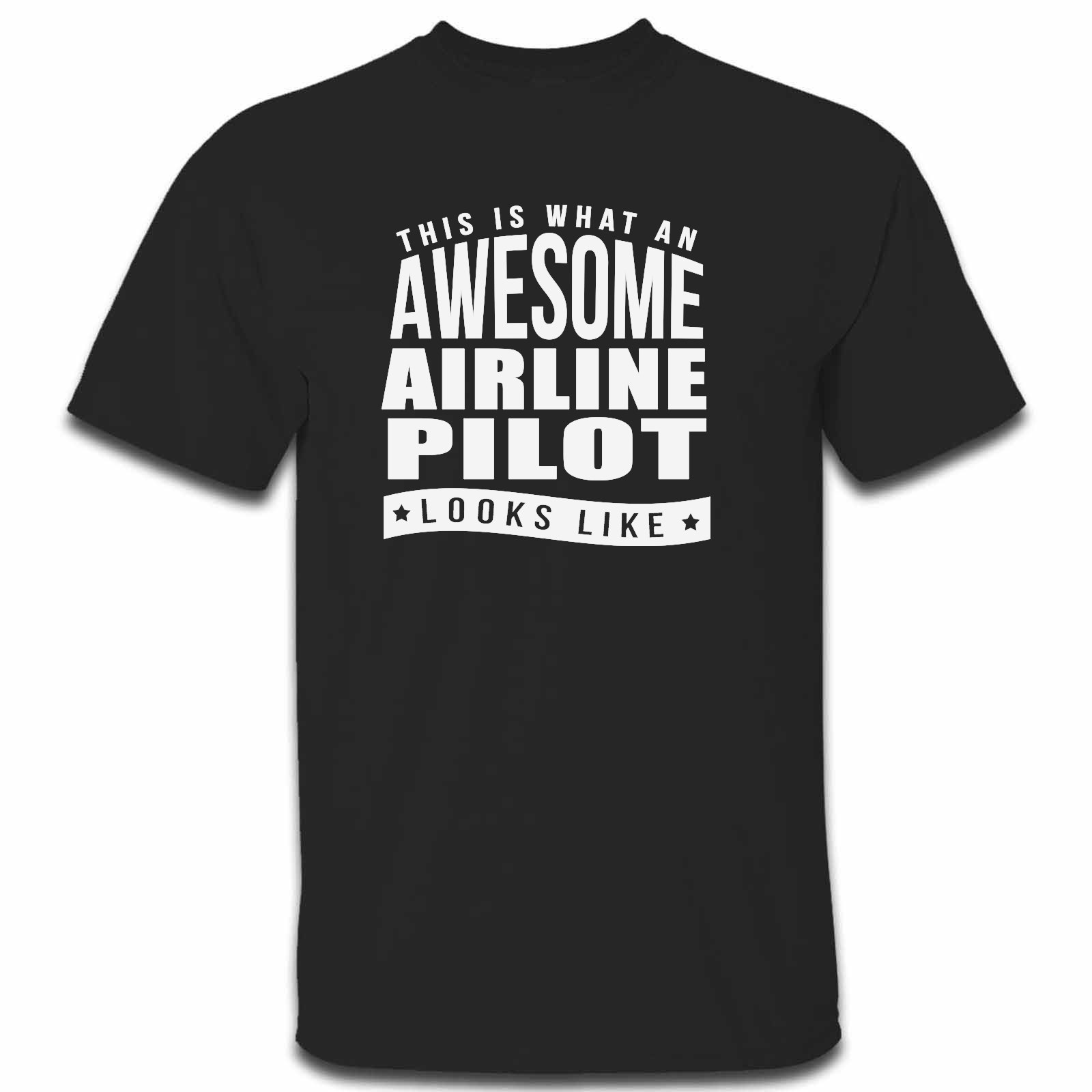 Picture of This Is What An Awesome Airline Pilot Looks Like Mens Tshirt