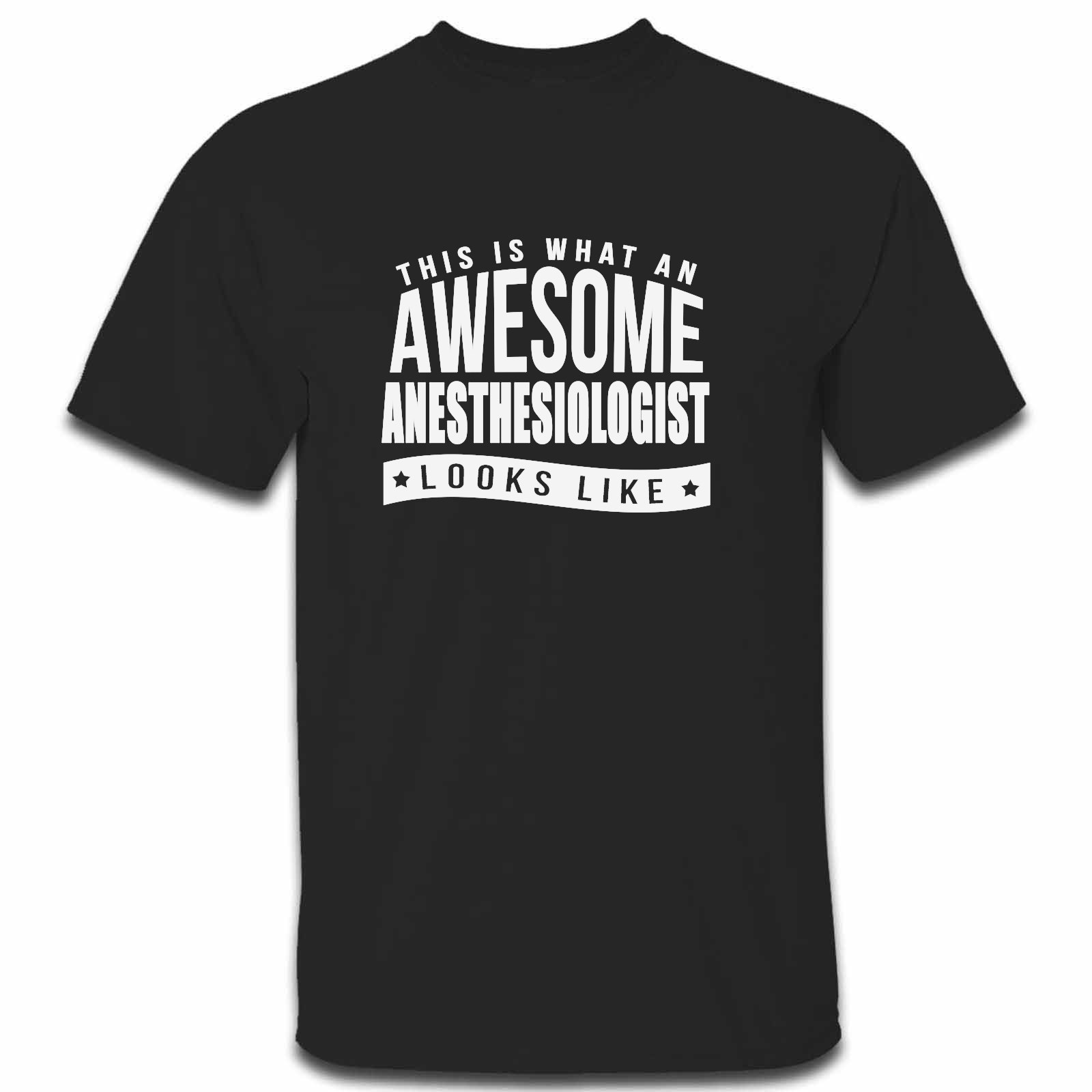 Picture of This Is What An Awesome Anesthesiologist Looks Like Mens Tshirt