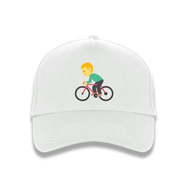 Picture of Emoji Bicyclist Baseball Cap