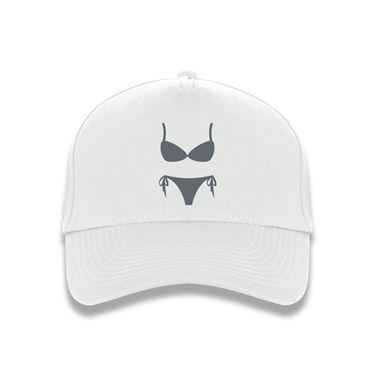 Picture of Emoji Bikini Baseball Cap