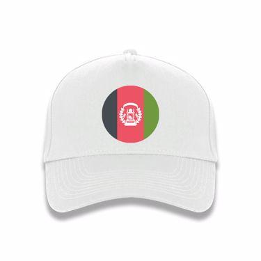 Picture of Emoji Afghanistan Flag Baseball Cap