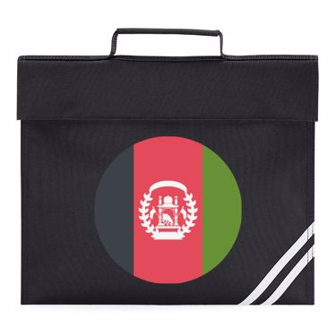 Picture of Emoji Afghanistan Flag Book Bag