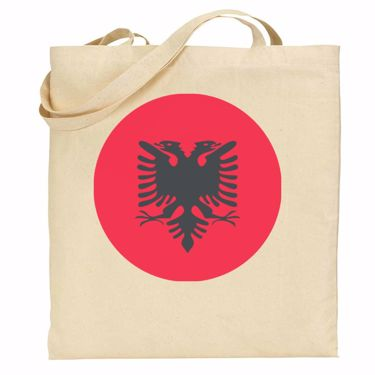 Picture of Emoji Albania Flag Shopper Bag