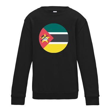 Picture of Emoji Mozambique Flag Womens Sweatshirt
