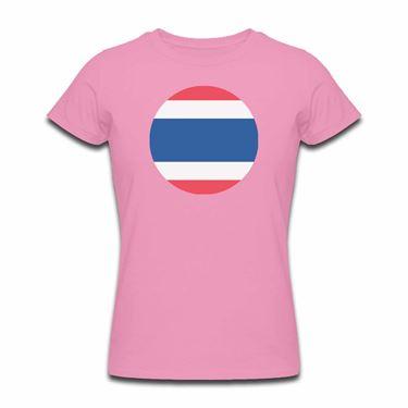 Picture of Emoji Thailand Flag Womens Tshirt