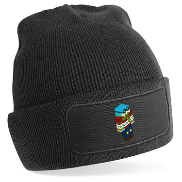 Picture of Dantdm Dan The Diamond Minecart Christmas Player Skin 3D Standing Right Pose Beanie Hat