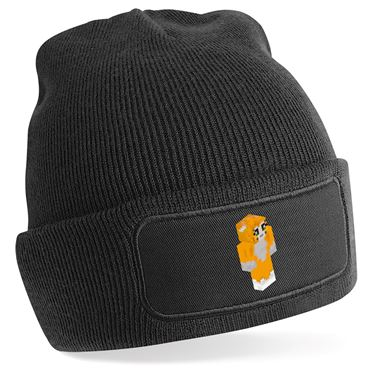 Picture of Stampy Cat Player Skin 3D Standing Right Pose Beanie Hat