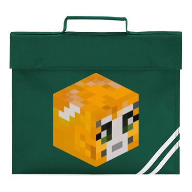 Picture of Stampy Cat Player Skin 3D Head Right Pose Book Bag