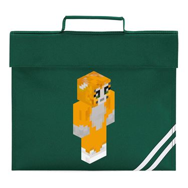 Picture of Stampy Cat Player Skin 3D Standing Right Pose Book Bag