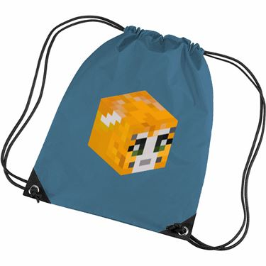 Picture of Stampy Cat Player Skin 3D Head Right Pose Gym Bag