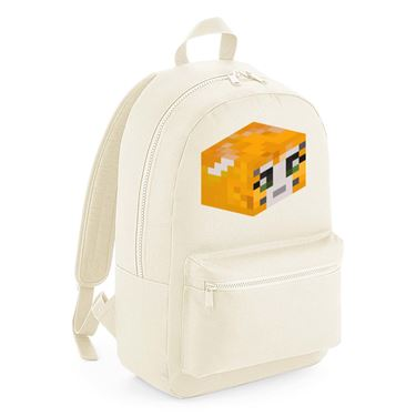 Picture of Stampy Cat Player Skin 3D Head Right Pose Kids Backpack