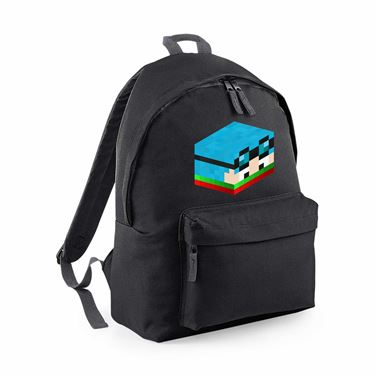 Picture of Dantdm Dan The Diamond Minecart Christmas Player Skin 3D Head Right Pose Maxi Backpack