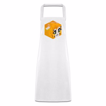 Picture of Stampy Cat Player Skin 3D Head Right Pose Pocketless Apron
