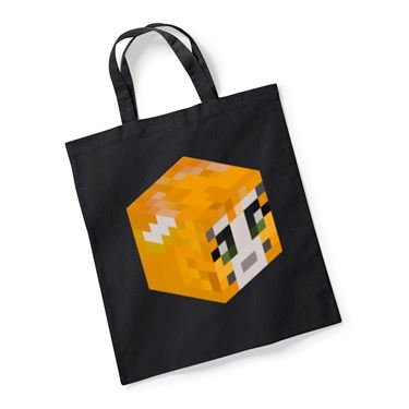 Picture of Stampy Cat Player Skin 3D Head Right Pose Reusable Bag For Life