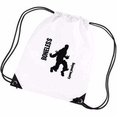 Picture of Boneless Beyond Bendy Emote Shop Item Silhouette Fortnite Battle Royale Gym Bag