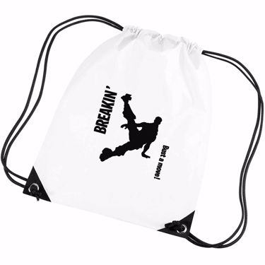 Picture of Breakin Bust A Move Emote Shop Item Silhouette Fortnite Battle Royale Gym Bag