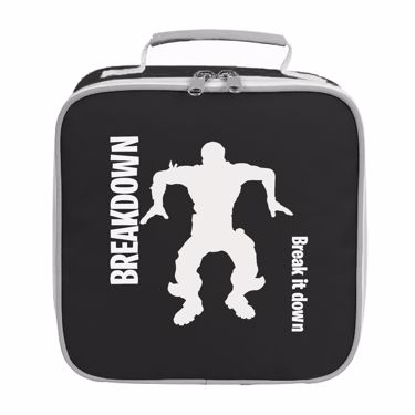 Picture of Breakdown Break It Down Emote Shop Item Silhouette Fortnite Battle Royale Lunch Bag