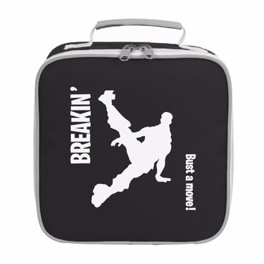 Picture of Breakin Bust A Move Emote Shop Item Silhouette Fortnite Battle Royale Lunch Bag
