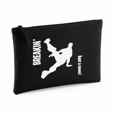 Picture of Breakin Bust A Move Emote Large Flat Pencil Case
