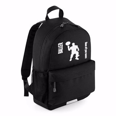 Picture of Baller Show Off Your Moves Emote School Backpack