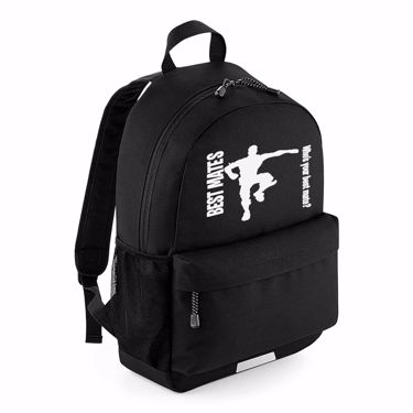 Picture of Best Mates Whos Your Best Mate Emote School Backpack