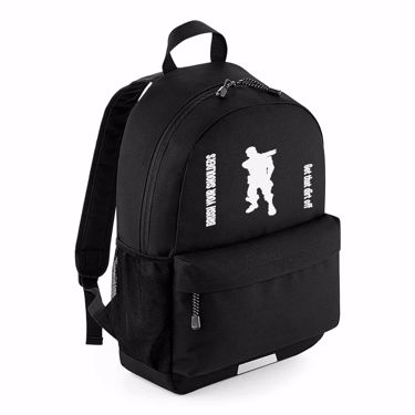 Picture of Brush Your Shoulders Get That Dirt Off Emote School Backpack
