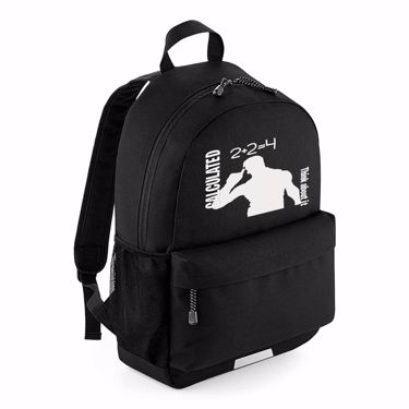 Picture of Calculated Think About It Emote School Backpack