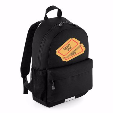 Picture of Emoji Admission Tickets School Backpack