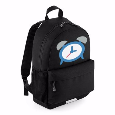 Picture of Emoji Alarm Clock School Backpack