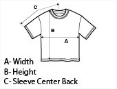 Boys Short Sleeve T-Shirt Size Guide