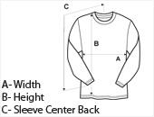Girls Long Sleeve T-Shirt Size Guide